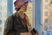 soviet paintings