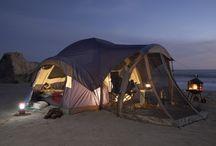 Beach camping / Beach camping