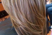 highlights brown hair