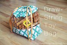 Drawstring bags | sewing patterns