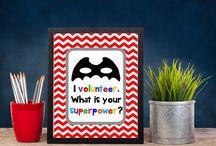 Volunteer Gift Ideas / by Nicole Juchem