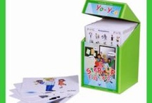 Flashcards / Yo-Yee Flashcards - Flashcards for children. Learn English, French, Spanish, German, Chinese and Thai easily with fun. Laminated Yo-Yee Flashcards for children and younger learners.