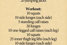 Workout / by Kimberly Hammer