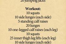 Legs / cviky na nohy
