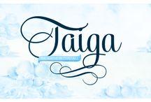 Taiga Typeface