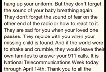 I am a 911 Dispatcher / by Amanda Leissler