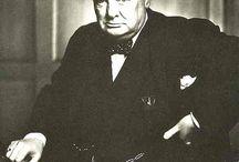 Sir Winston Churchill / by Elizabeth Shardelow