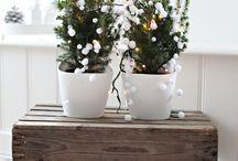 huisdecoratie kerststukjes