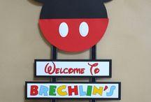 Mickey Mouse / by Jennifer Strickler