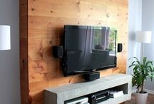TV wall and home ideas