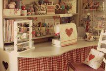 Dream Craft Rooms / Rincones de sueños, fantasias...