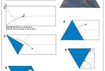Ideas ~ Papercrafts / Origami, 3D art, tutorials.