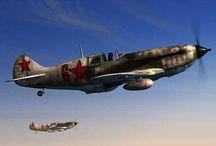 WW2 Aircraft Russia