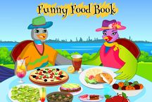 Luna and Alooks Funny Food Book / Alook and Luna are now doing a children's book together about food.