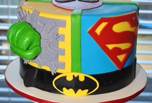 Super hero cakes  / by Kelly Gooden