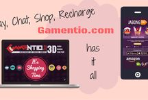 GAMING meets SHOPPING / Play any game on GAMENTIO.COM, Earn loyalty points in GAMEPLAY and Redeem points to shop online!
