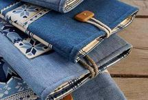 rifle, jeansy, denim...recyklace