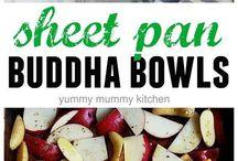 Sheet Pan Winter Buddha Bowls