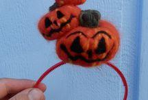 Halloween felt stuff / Things made from felt with a halloween theme