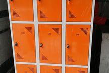 Szafki BHP pracownicze socjalne metalowe  LOCKER  LOCKERS / Na tej tablicy przedstawiam zdjęcia szafek IAHU