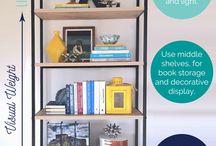 Shelves - lounge