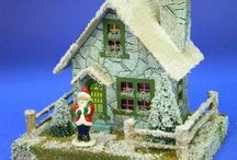 Paper, Putz, and Glitter Houses