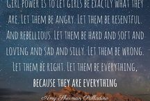 Inspiration for Women and Girls / Quotes by inspirational women and men to influence, motivate, inspire and empower our Guides to be change makers and leaders