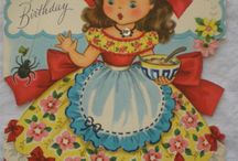 Fairfield Doll Vintage Cards