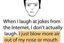 Funny stuff and irony..