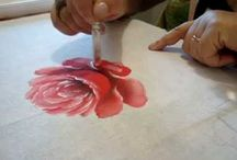 Painting roses