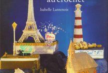 Catalogue de miniatures dont une  chapelle / éléments crochetés et rigidifiés en français