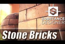 Procedural Texturing / Substance Designer / Etc