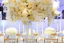 Decoracion de bodas en blanco