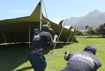 Stretch tent safety / As a stretch tent manufacturer that adheres to international safety standards and regulations, stretch tent safety education is paramount to the successful rigging and setup of these temporary structures.