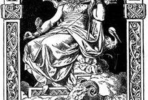 Goddesses Germanic Norse Teutonic Saxon