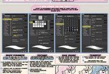 ART: Digital drawing / GIMP, paint tool sai, photoshop