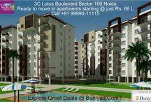 3C New Launch Lotus Boulevard sector 100 Noida