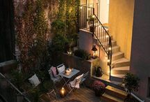 Cosy balconies