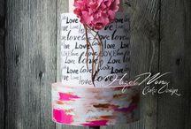 Valentine's Love Cakes