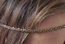 My beaded headbands