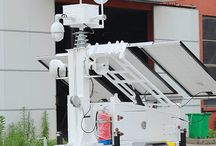 Portable Surveillance Trailer / The Portable Surveillance Trailer are 100% powered from sun.It support GPS and 4G wireless, you can control it by computer or mobile phone anywhere you want to.