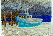 Mozaik, házszám