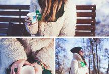 зима уличная фотосессия
