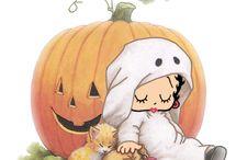 Betty Boop Halloween / Created by Ria Jongeneel