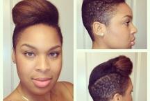 Natural Girls rock / beauty and natural hair style