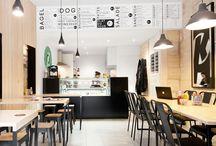 cafes, bars, restaurants