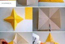 Estrellas de origami