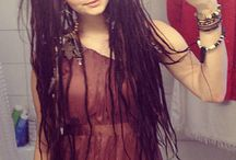 Dreadlocks and Tattoo and Piercing