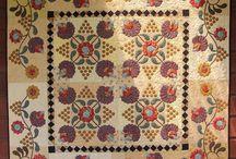 Appliqué Quilts Ideas / Appliqué quilts designs that I like