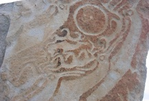 Rock carving Petroglyphs